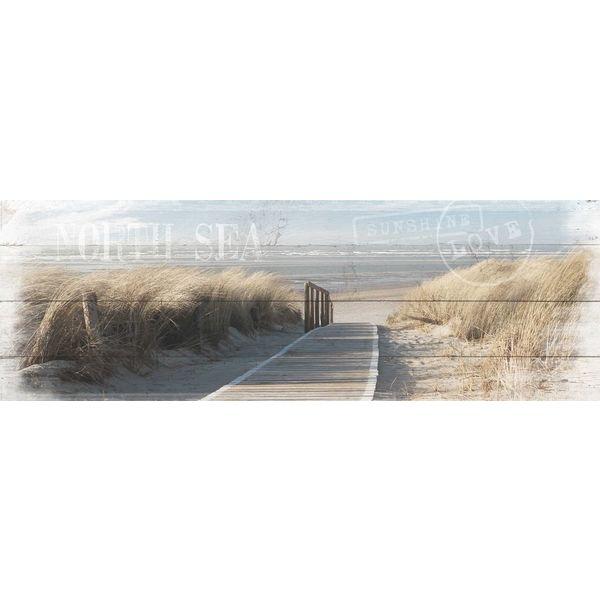 Weg zum Meer Dünen - Deco Panel 156 x 52 cm