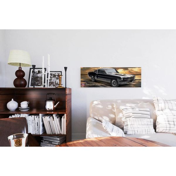 Ford Shelby Mustang 66 GT350 - Deco Panel 90 x 30 cm