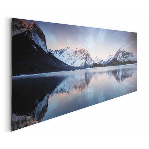 Wandbild Sonnenaufgang Bergsee