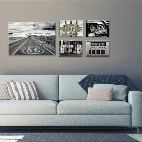 Wandbilder 5-teilig ROUTE 66