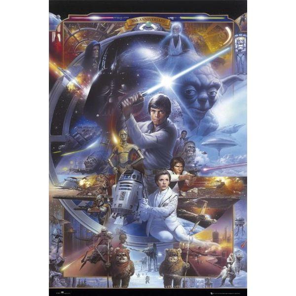 Star Wars 30 Jahre - Deco Panel 60 x 90 cm