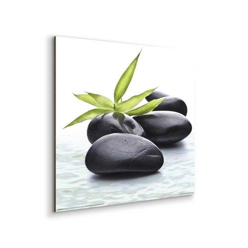Wandbild Zen Steine