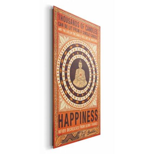 Wandbild Happiness