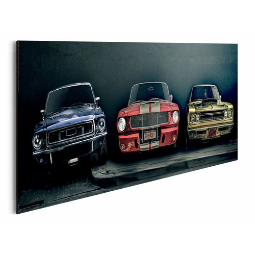 Wandbild Muscle Cars