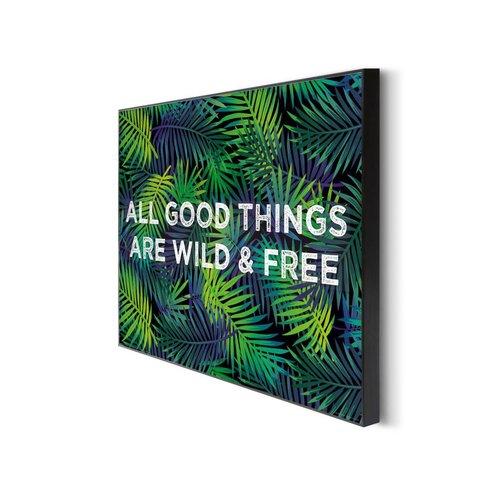 Wandbild Wild & free