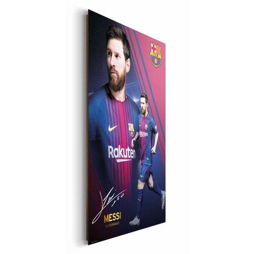 Wandbild Lionel Messi