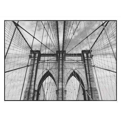 Wandbild Brooklyn Brücke  Architektur