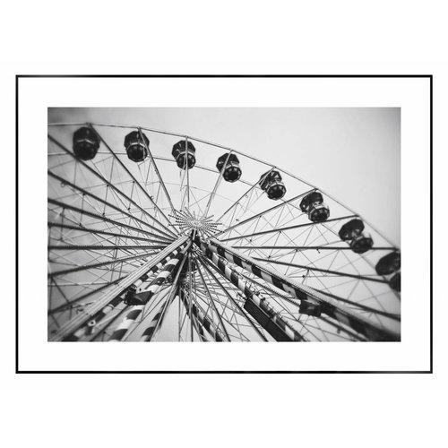 Wandbild Riesenrad