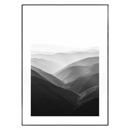 Wandbild Berge