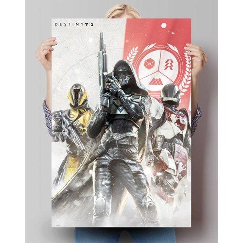 Poster Destiny 2 Charaktere