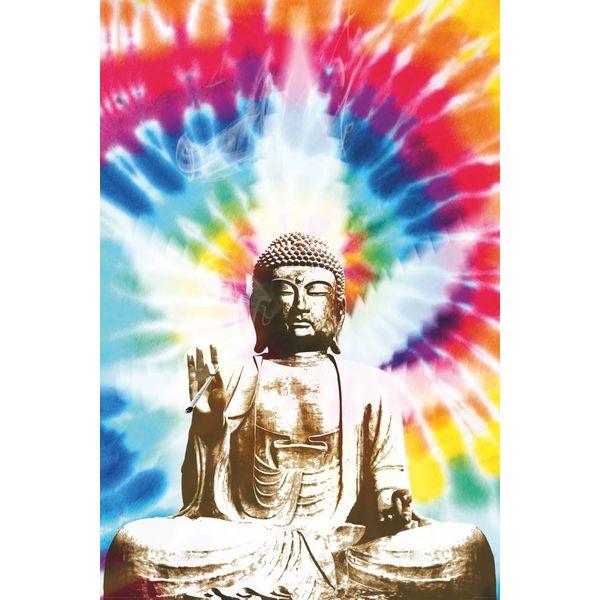 Buddha Cannabis - Deco Panel 60 x 90 cm