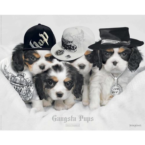Poster Keith Kimberlin Gangsta Pups