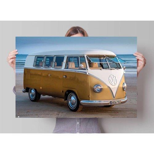 Poster Volkswagen  Bulli gold