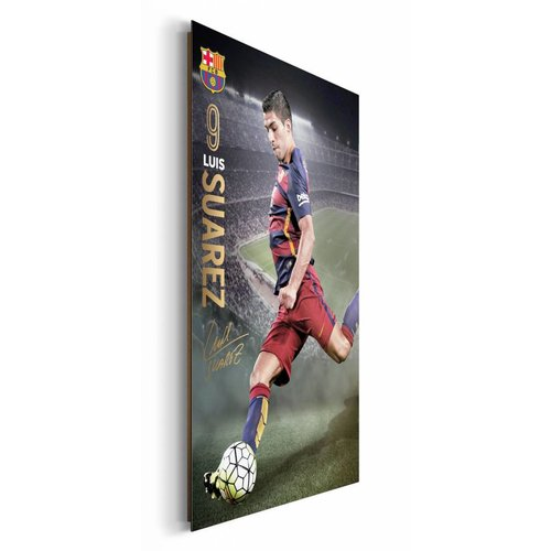 Wandbild FC Barcelona Luis Suarez 15/16
