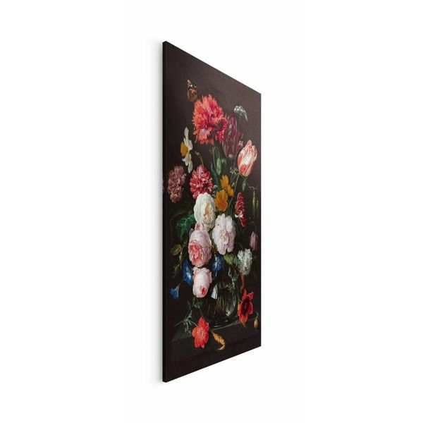 Stillleben Blumen in Vase Jan Davidsz de Heem - Wandbild 70 x 118 cm