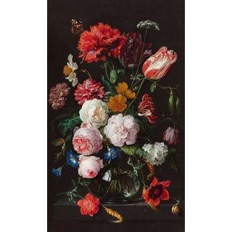 Wandbild Stillleben Blumen in Vase Jan Davidsz de Heem