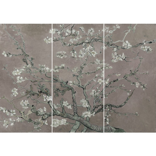 Wandbild Mandel Blütenbaum