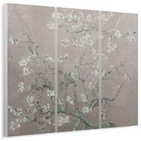 Mandel Blütenbaum - Wandbild 114 x 80 cm