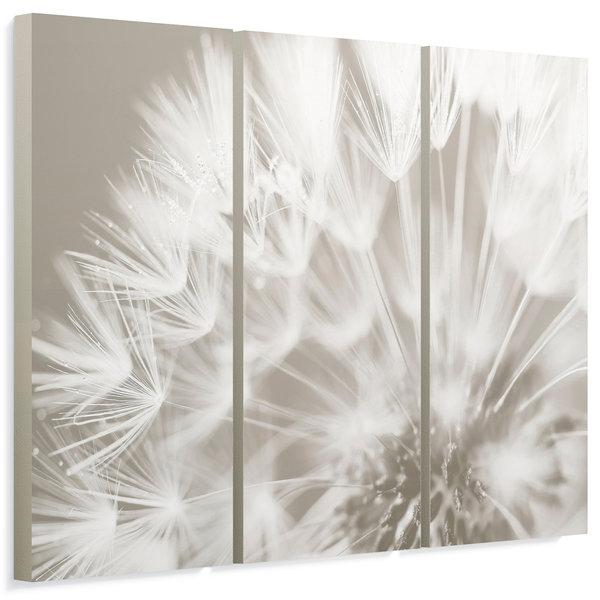 Pusteblume Nahaufnahme - Wandbild 114 x 80 cm