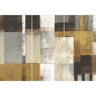 Wandbild Quadrate Abstrakt