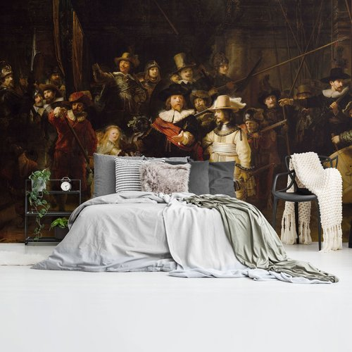 Fototapete Die Nachtwache Alten Meistern - Rembrandt van Rijn - Rijksmuseum