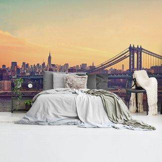 Fototapete New York Brücke