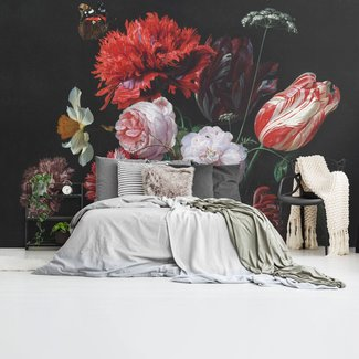 Fototapete Stillleben mit Blumenvase
