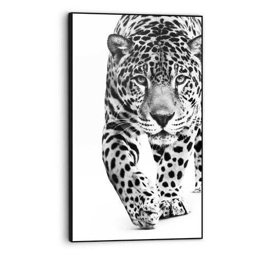 Gerahmtes Bild Panther Kräftig - Leopard - Raubtier - Gefleckt