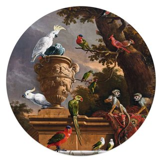 Glasbild Melchior d'Hondecoeter