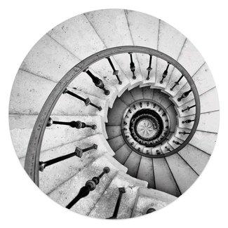 Glasbild Spiraltreppe