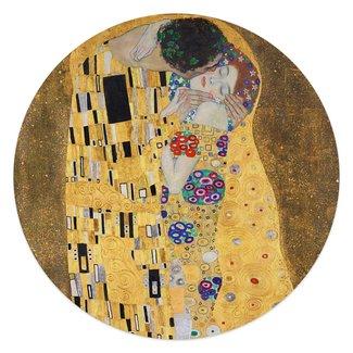 Glasbild Der Kuss Gustav Klimt  - Jugendstil - Kunst - Liebe