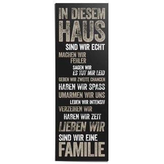 Poster In diesem Haus