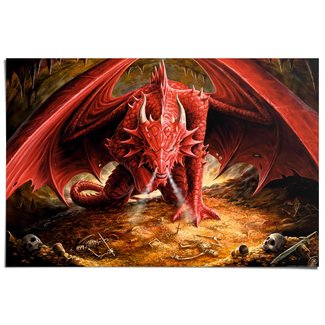 Poster Drachenhöhle