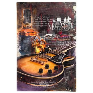 Poster Guitar Blues Night
