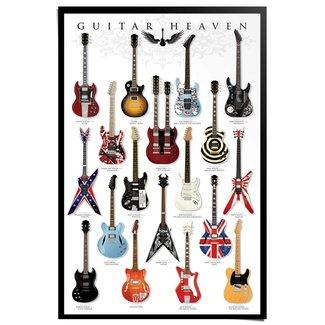 Poster Gitarren Sammlung