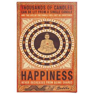 Poster Buddha Happiness