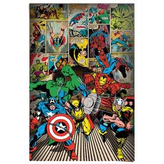 Poster Marvel Helden