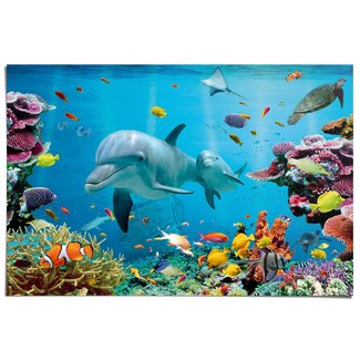 Poster Tropisch Unterwasser