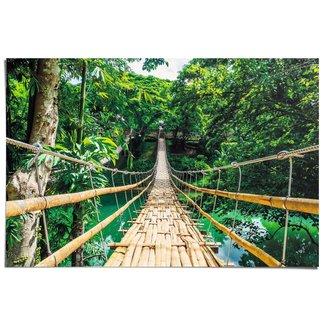 Poster Dschungel Brücke