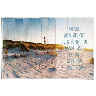 Poster Sonne am Strand
