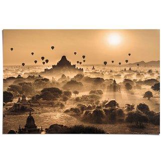 Poster Märchenhafter Sonnenaufgang