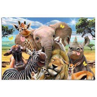 Poster Lustige Wildtiere
