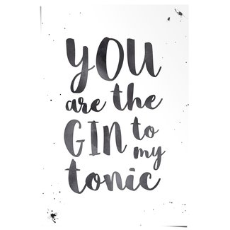Poster Gin Tonic Love