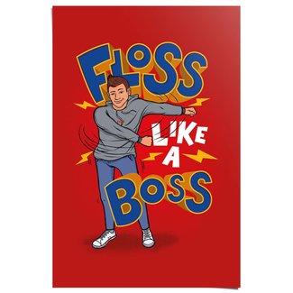 Poster Floss like a Boss
