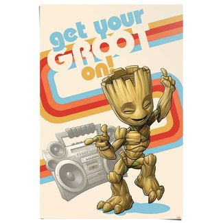 Poster Get your Groot on