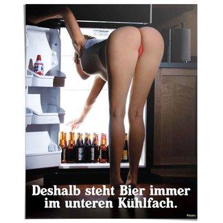 Poster Kühlfach