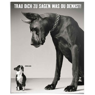 Poster Verpiss dich