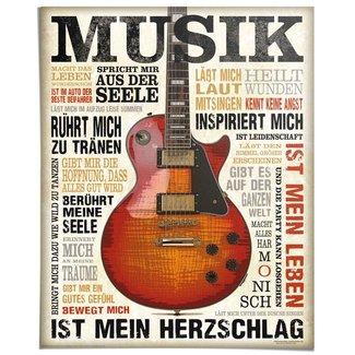 Poster Musik ist Leidenschaft