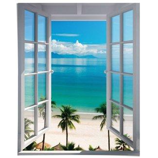 Poster Fensterblick