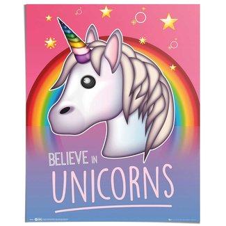 Poster Einhorn Emoji